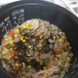 ツナ缶とミックスベジタブルの炊き込みご飯♡