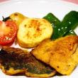 ♪ゴロゴロ野菜のポトフ&アジのカレームニエル♪