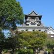 昔の質感がそのまま残る犬山城の天守閣