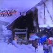 寒い!雪→外出・昼食@藤沢→野暮用@Veloce