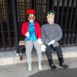 図書館の人形