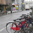 駅前の自転車預かり所