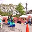 山崎 桜バザーでフラショー