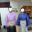 レンタルshopのサカキバラで紋付袴の練習会、
