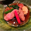 『松阪牛懐石 真』 出世の階段の愛宕神社そばにある肉懐石でクリスマス