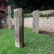 136 目黒不動の石造物 21 本堂右側の二宮尊徳像、虚空蔵菩薩