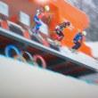 女子スキー複合はボンさんコースアウト スイスが1位と3位 今日の歩きは東へ9km 宮原さん好調も残念