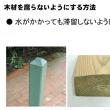 206.新人教育(木材の知識基本編):木材を腐らないようにする。その1