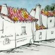 1621.サント・アントニオ・ド・アルヴァの町角