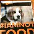 【2019年初アクションのお誘い】1/5~1/6 (土日) 犬肉輸入禁止及び犬食禁止の法制化を求める路上アクション☆彡