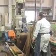 雷鳥3トップパネルの石材加工工場を見学
