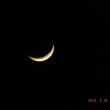 お月さまが美しく・・・
