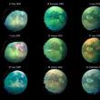 謎の光る点は砂丘から舞い上げられた砂塵の雲? 活発な衛星タイタンに新しい特徴を発見