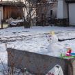 雪だ!【池田城址公園】