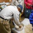 今月の「食と命の教室」は糀作り、小糸在来の枝豆など
