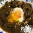 牛すね肉のカレー with メンチ&目玉焼き、そして東京1・2Rは…