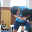霞ヶ浦高校合同練習続き
