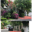 さがり花、と 水色の家