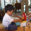 遥人三歳の誕生祝