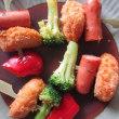 冷凍食品を使って・・(冷凍ブロッコリー&ひとくちカツ)