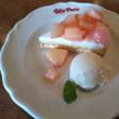 ホタテと長ネギバタースープ仕立て 白桃のカスタードタルト ジョリーパスタ