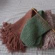 編み物はじめてます