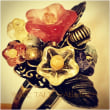 【新作】【追加作品】「海底遺跡に花」シリーズ #シーグラス #アクセサリー