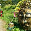 奈良明日香村稲渕地区の彼岸花祭りと案山子ロード