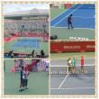 初テニス観戦