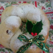 クリスマスリースパン