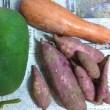 頂き野菜。