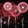 今年の花火は鮮やか・・・!!