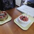 ケーキは凪のさくら