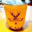 小山緑茶タピオカミルクティー