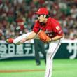 2018/06/17 先発:九里 13-4 vs.ホークス