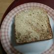 家庭菜園で作った小麦で焼いたパン