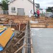 基礎コンクリート打設の思い