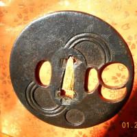 日本刀の鍔-3
