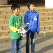 10月18日(水)の続き②:4年生のドローンを通した体験学習 6年生の外国語活動