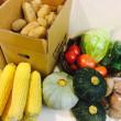 台風と野菜のギフト