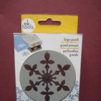 雪の結晶(スノーフレーク)のクラフトパンチはek success・ヴィンテージ スノーフレーク(Vintage Snowflake)<shopWA・ON>