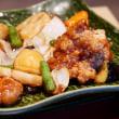No.3986  鶏と野菜の黒酢あん