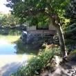 「史跡探訪」養浩館庭園は福井城本丸の北約400メートルの場所