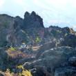 秋・・・初冠雪の浅間山・・・峰の茶屋から・・・「鬼押出し園」へ