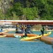 <11月24日(金)の辺野古>久しぶりの海上行動---カヌーメンバーの奮闘が続く