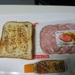 マスタードでシンプルサンドイッチ