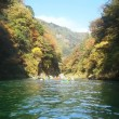 白丸湖でカヤック遊びするー3(渓流で遊ぶ)