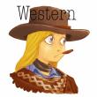 Western画
