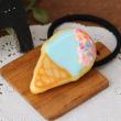 アイシングクッキー アイスクリームのヘアゴム