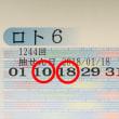 ロト6第1244回の予測と当選番号